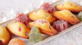Madeleines aux pâtes de fruits Motta